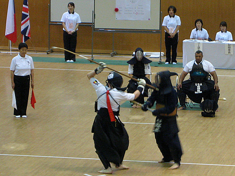 naginata vs. kendo